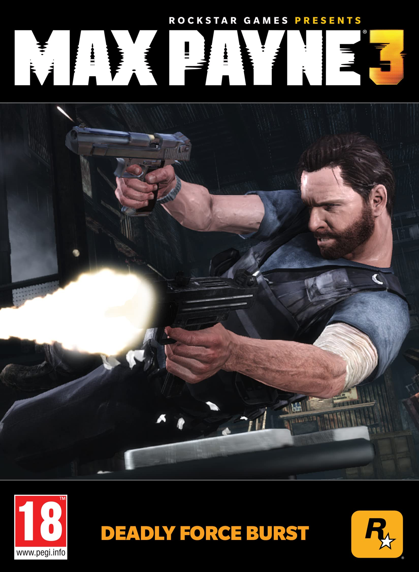 Max Payne 3 Deadly Force Burst Pc Code Steam Amazon Co Uk Pc Video Games