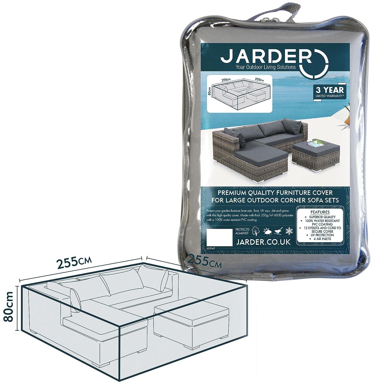 Jarder Garden Corner Sofa Set Cover | 100% Water Resistant