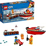 LEGO City Dock Side Fire 60213 Building Toy