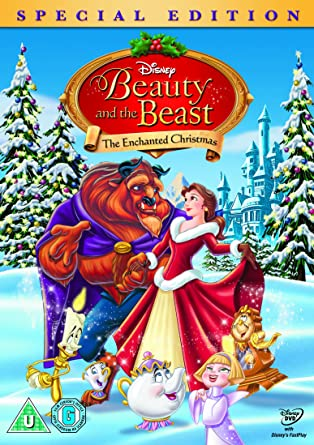 Beauty and the Beast The Enchanted Christmas [DVD]: Amazon.co.uk ...