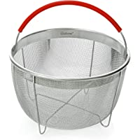 Original Salbree Steamer Basket for 3qt Instant Pot Accessories, Stainless Steel Strainer and Insert fits IP Insta Pot…