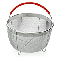 Original Salbree Steamer Basket for 6qt Instant Pot Accessories, Stainless Steel...