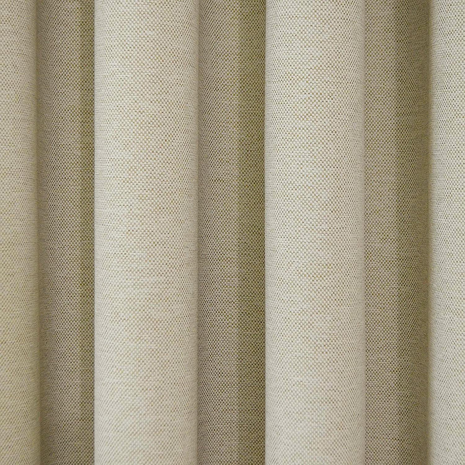 Curtains texture gold - Amazon Com Eclipse 12966052095ivy Bobbi 52 Inch By 95 Inch Grommet Blackout Single Window Curtain Panel Ivory Home Kitchen