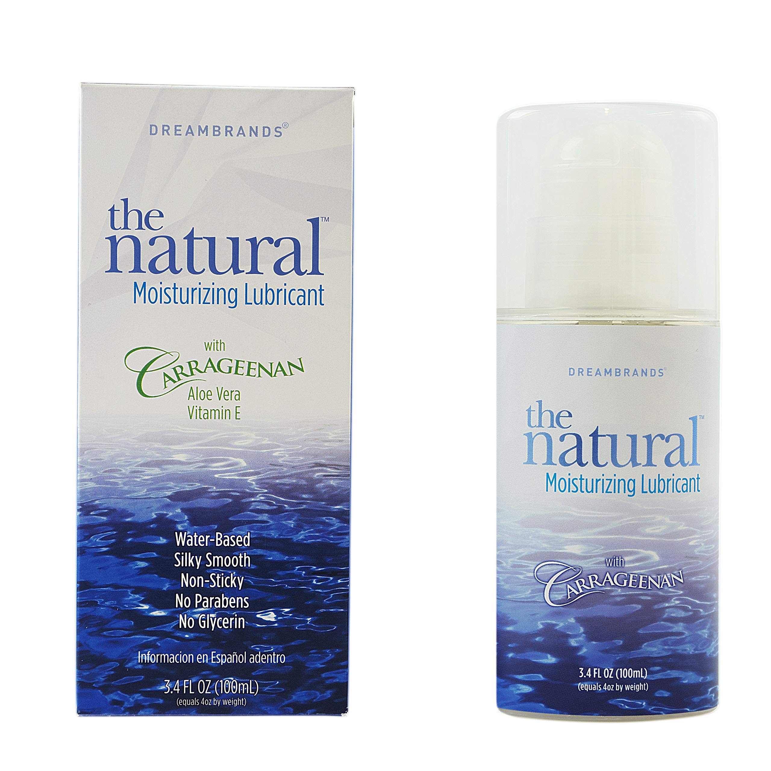 Dreambrands Carrageenan Love with Care Personal Lubricant -- 4 fl oz