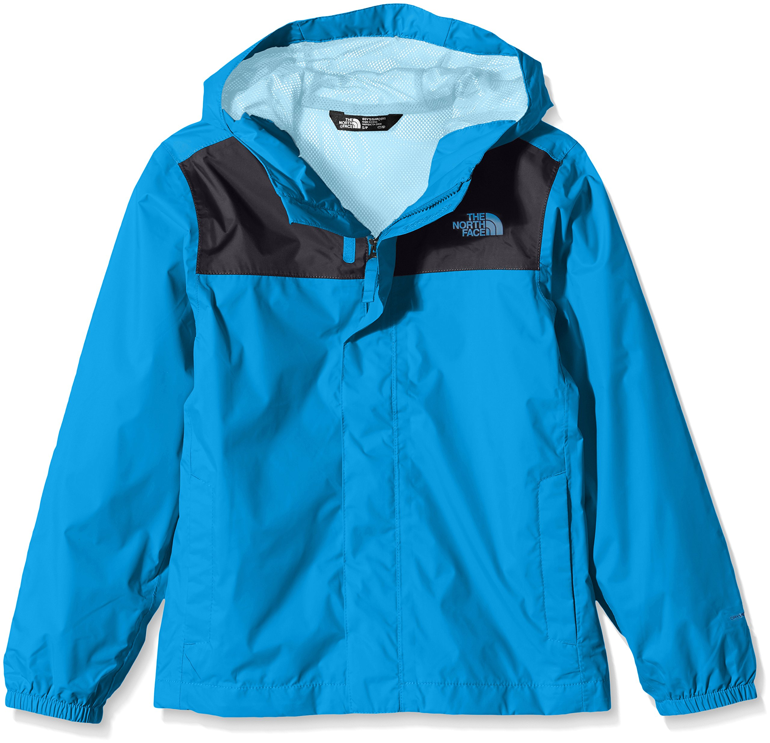 The North Face Big Boys Zipline Rain Jacket - clear lake blue, m/10-12