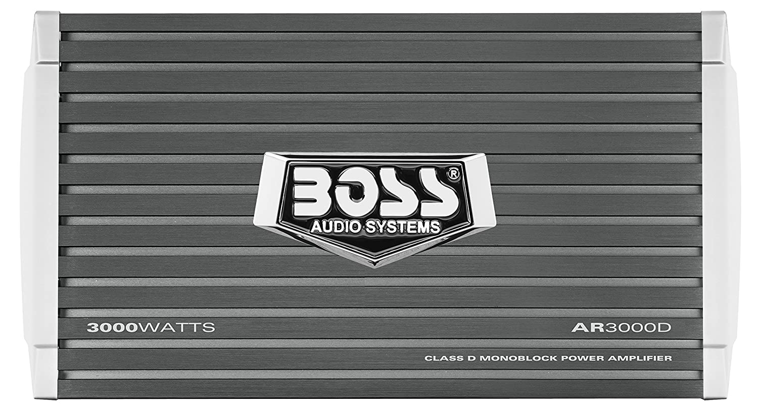 BOSS AUDIO AR2400.4 Armor 2400-Watt Full Range, Class A/B 2-8 Ohm Stable 4 Channel Amplifier with Remote Subwoofer Level Control