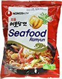 Nong Shim Instantnudeln, Seafood, (Modumheamul Tangmyun), 125 g