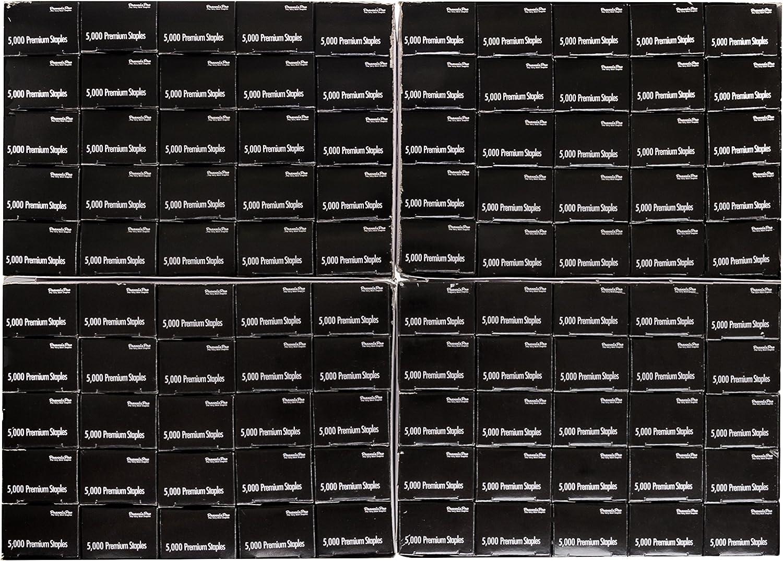Swingline S 3 Premium Chisel Point Staples 105 Count Half Strip 25,000 Total F