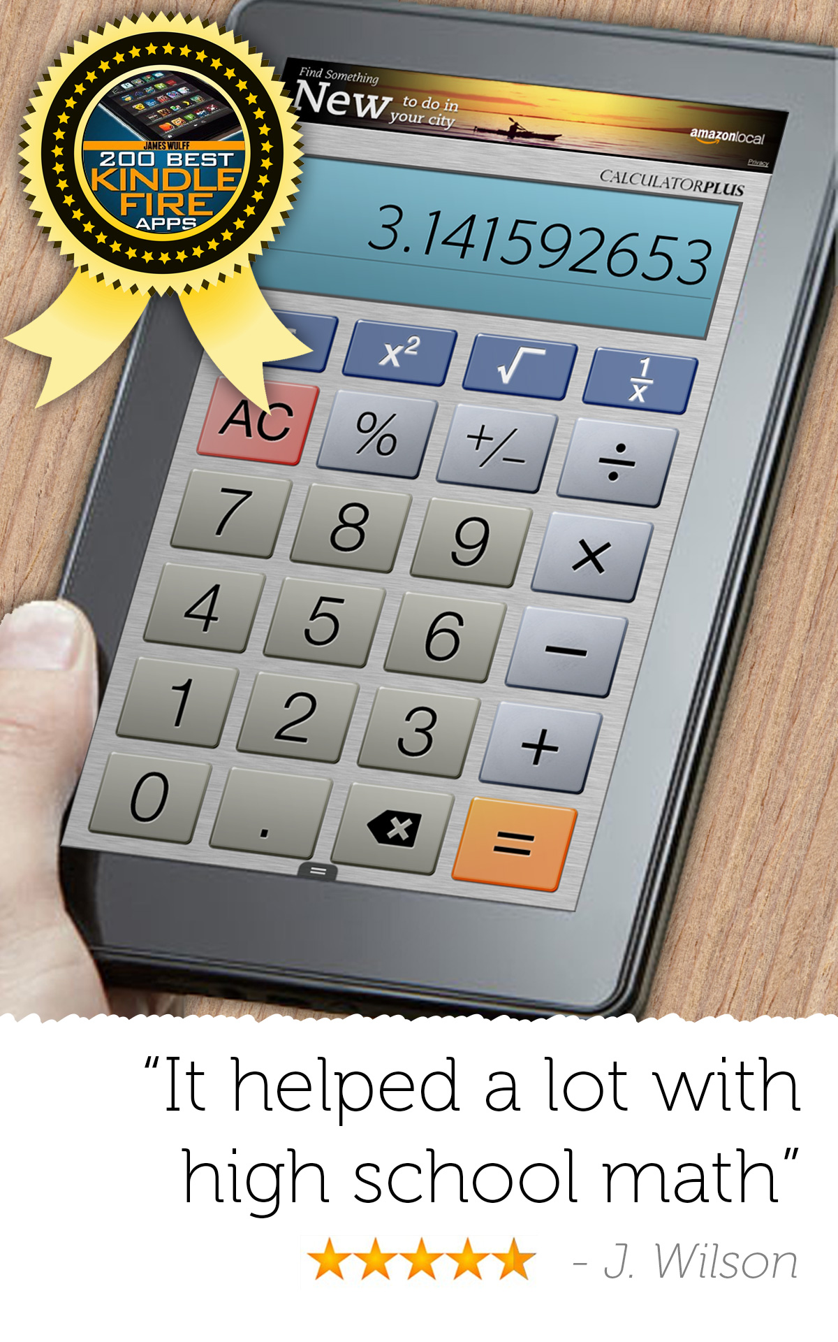 Amazon.com: Calculator Plus Free: Appstore for Android