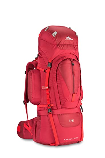 77032284590 High Sierra Appalachian 75L Top Load Internal Frame Backpack  High-Performance  Pack for Backpacking