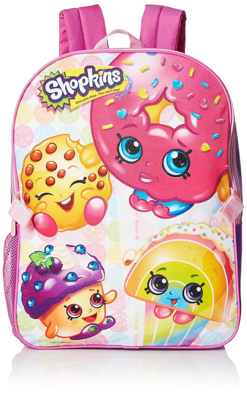 Backpack - Shopkins - w/Lunch Bag New 413377 Ruz SY27689-SC-PU