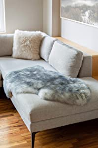 Overland Single-Pelt (2' x 3.5') Premium Australian Sheepskin Rug
