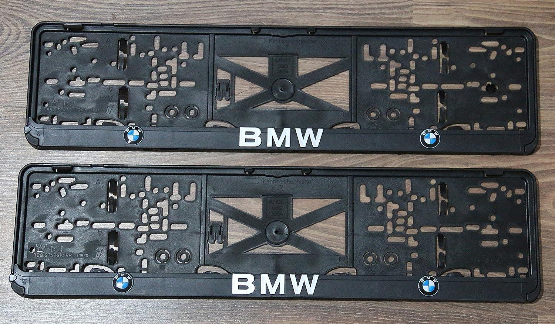 2/x Soportes para matr/ícula para matr/ícula coche soporte for EU excepto at
