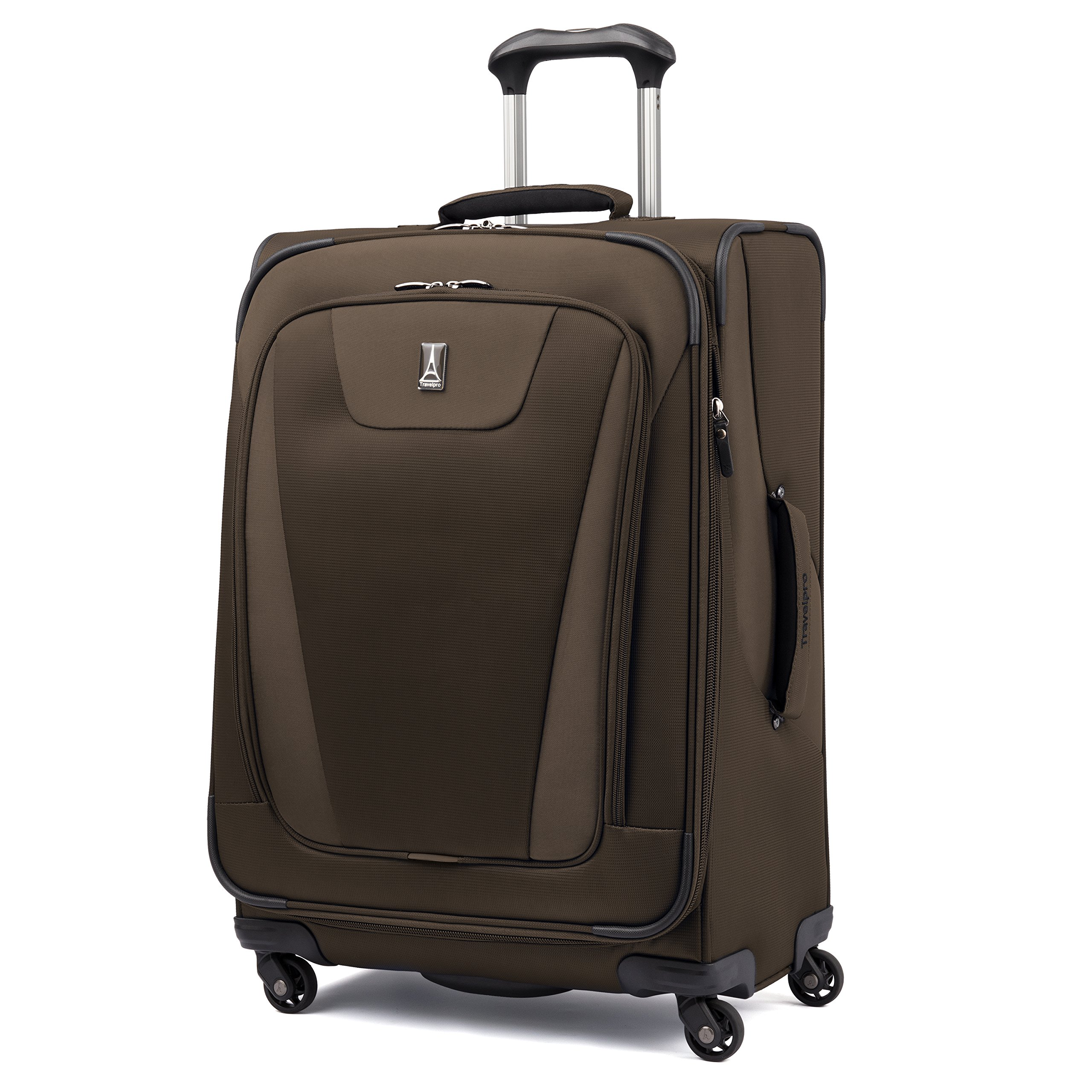 Travelpro Maxlite 4 Expandable 25 Inch Spinner Suitcase (Mocha)