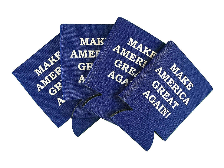 Donald Trump Make America Great Again Royal Blue Can Cooler 4 pack