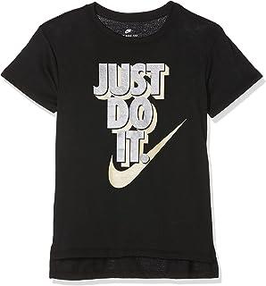 eb32fdd4e Nike Girls' Mädchen Sportswear Tee Hilo JDI T-Shirt: Amazon.co.uk ...
