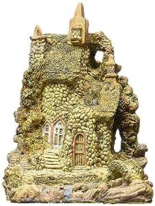 """Market Hill 7"""" Tall Jasmine Fairy House for Fairy or Miniature Garden"""