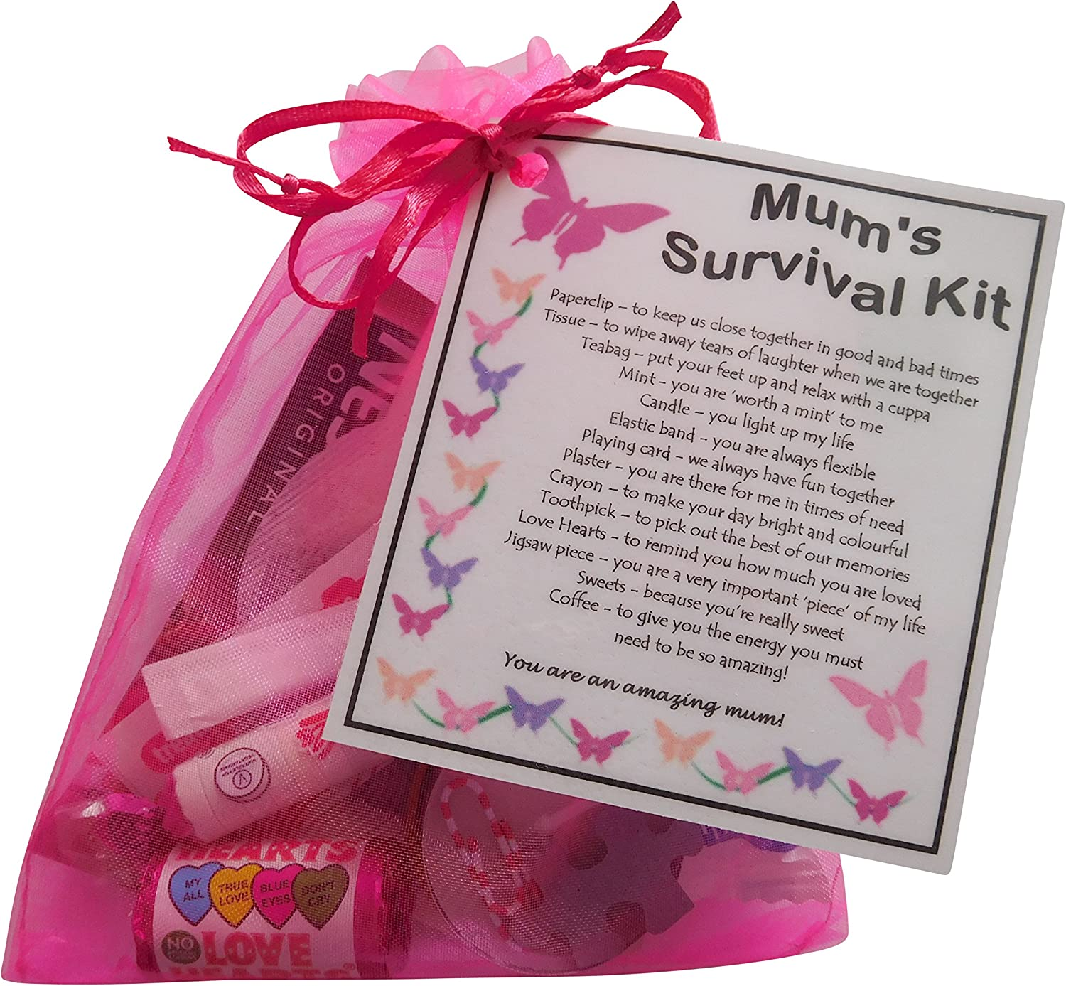 Mum S Survival Kit Mum S Birthday Mum Christmas Mother S Day Or Just Because Mum Gift Gift For Mum Gifts Mother Gift For Mothers Gifts Mum Present Amazon Co Uk Office Products