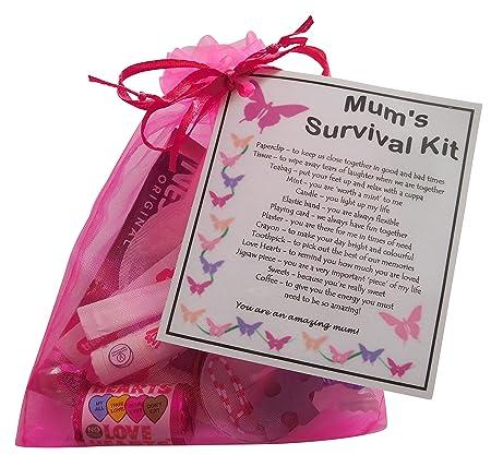 Kit de supervivencia para mamás, gran regalo para cumpleaños ...