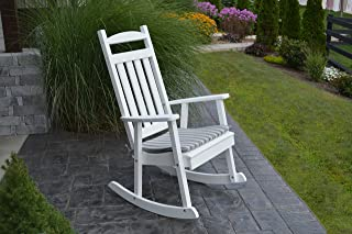 product image for Furniture Barn USA Outdoor Poly Classic Porch Rocker - Bright White