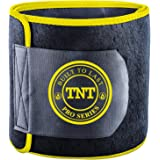 TNT Pro Series Waist Trimmer Weight Loss Ab Belt - Premium Stomach Fat Burner Wrap and Waist Trainer