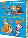 PAW Patrol Little Golden Book Library (PAW Patrol): Itty-Bitty Kitty Rescue; Puppy Birthday!; Pirate Pups; All-Star Pups…