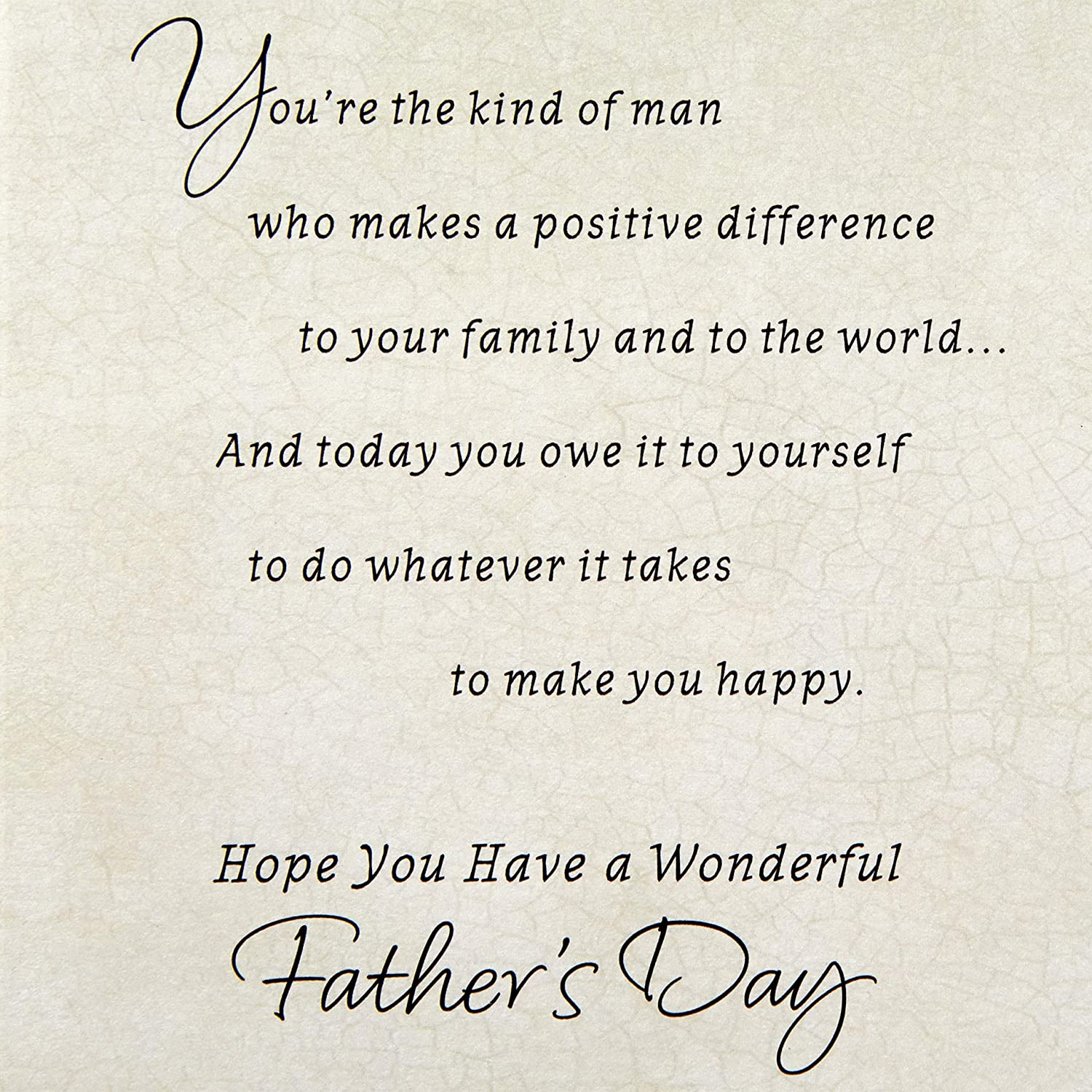 Hallmark Fathers Day Greeting Card Very Special