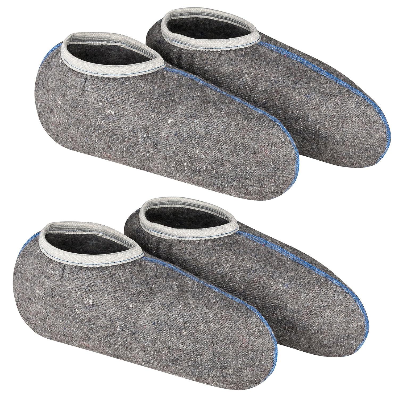 /Souple CRIN Chaussettes DESERMO Lot de 2/Bottes Chaussettes pour Bottes en Caoutchouc avec Protection Contre lhumidit/é/