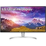 "LG 32UL950-W 32"" Class Ultrafine 4K UHD LED Monitor with Thunderbolt 3 Connectivity Silver (31.5"" Display)"