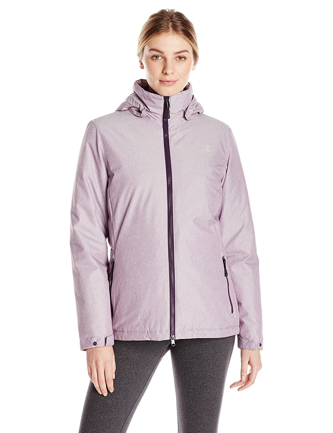 Champion Women's 3-in-1 Jacket with Fleece Inner Shell Champion Womens Outerwear CH3002PS
