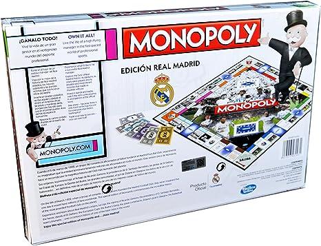 Real Madrid MONOPOLY: Amazon.es: Juguetes y juegos