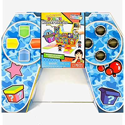 Kids Boys Ryan's Ryan's Ryan World (Bonus Exclusive Porte FRIDEDECIA TM) Playdate Gamer Mystery Countdown Controller: Toys & Games