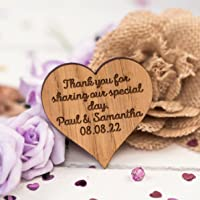 Thank you sharing our special day tags - Table Decorations Wedding Confetti Hearts