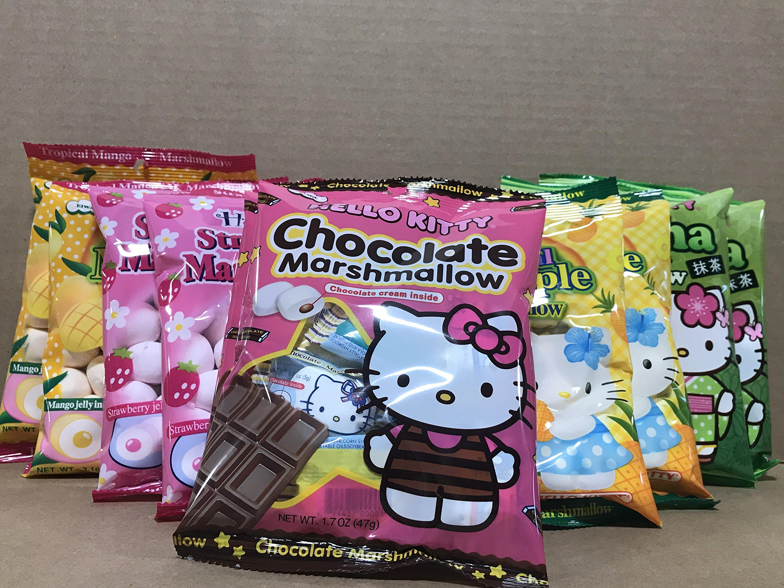 KC Commerce HELLO KITTY Marshmallow Variety Pack (Variety Pack of 10) by KC Commerce