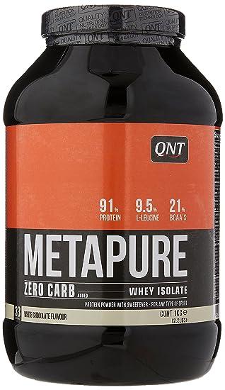 04740c4bb QNT Metapure Zero Carb Whey Isolate Supplement