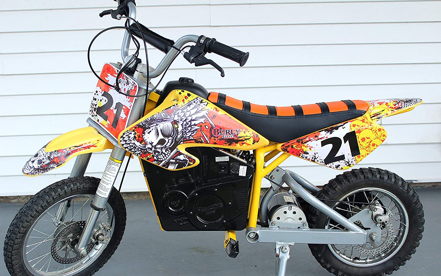 Razor MX500 MX650 graphics kit decals THICK AND HIGH GLOSS