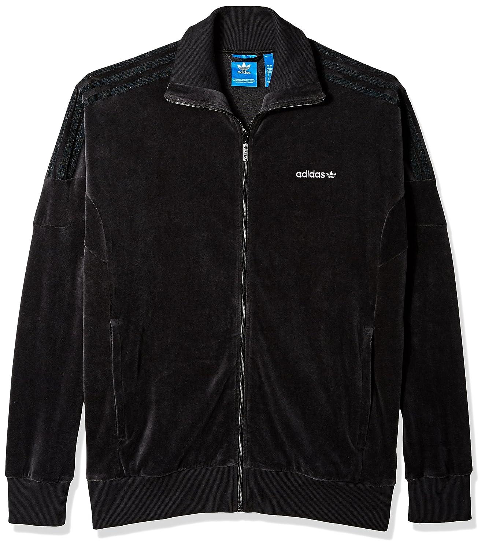 adidas Herren Originals Men's Clr84 Velour Track Top Jacke