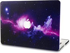 "KECC Laptop Case for MacBook Pro 13"" (2020/2019/2018/2017/2016) Plastic Hard Shell Cover A2289/A2251/A2159/A1989/A1706/A1708 Touch Bar (Purple)"