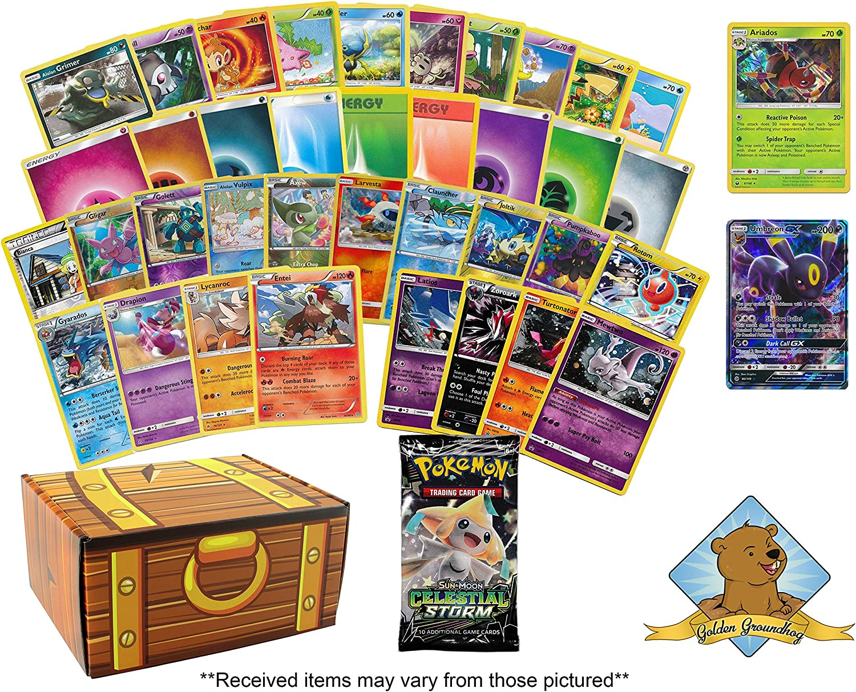 FOILS /& PROMO! 100 POKEMON TRADING CARDS WITH RARES