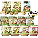 Yammy, Pack Degustación Potitos y Galletas Ecológicos (8 Purés y 3 Galletas) -