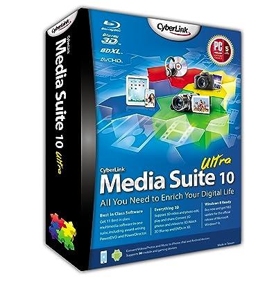 Cyberlink media suite 10 ultra
