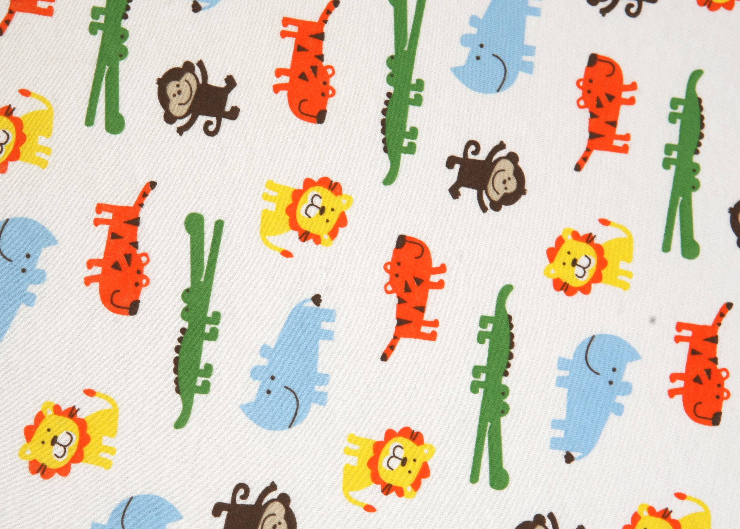 Premium Fitted Pack N Play Playard Sheet made with 100% ORGANIC Cotton, SAFARI by Luxuriously Soft-NEW YORK (Image #3)