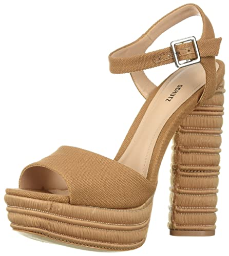 4cebd4aaa17 Amazon.com  SCHUTZ Women s Jane Heeled Sandal  Shoes