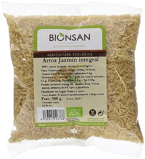 Bionsan Arroz Blanco Redondo - 6 Paquetes de 500 gr - Total: 3000 gr: Amazon.es: Alimentación y bebidas