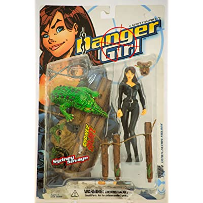 Danger Girl Sydney Savage Action Figure: Toys & Games