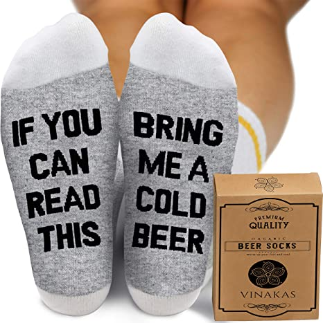 If You Can Read This Socks Bring Me Olives Christmas Birthday Funny Gift
