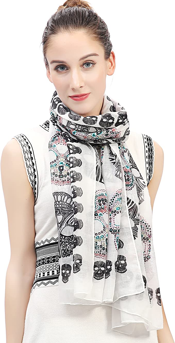 Acheter foulard echarpe bandana tete de mort online 6