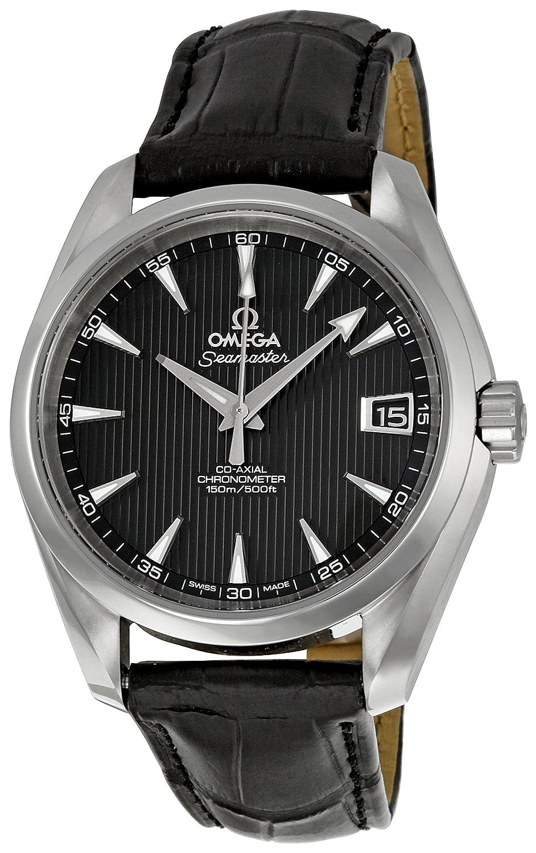 オメガメンズ231.13.39.21.06.001ブラックダイヤルSeamaster Aqua Terra Watch B004Q5T8V2