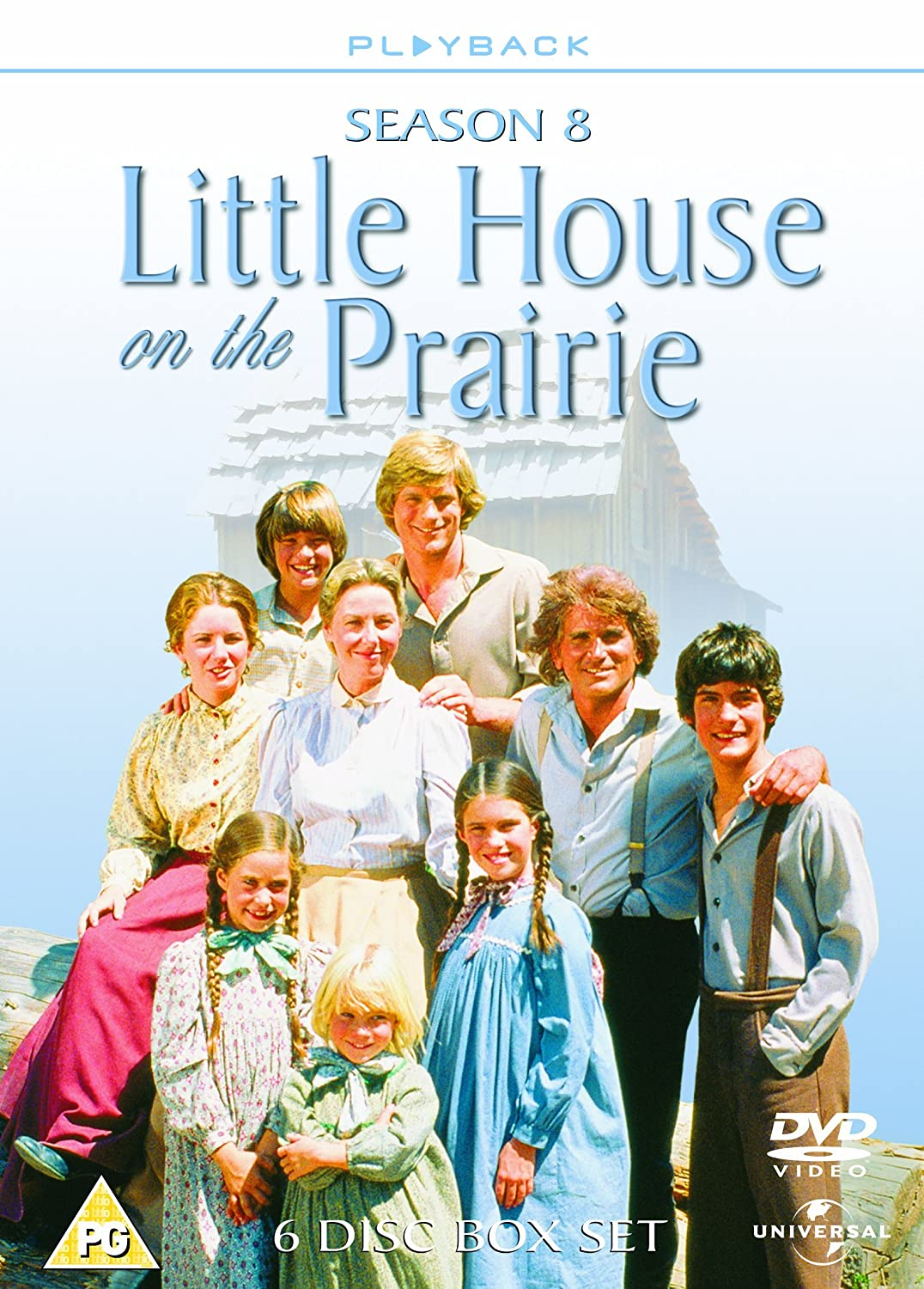 little house on the prairie season 8 dvd amazon co uk melissa