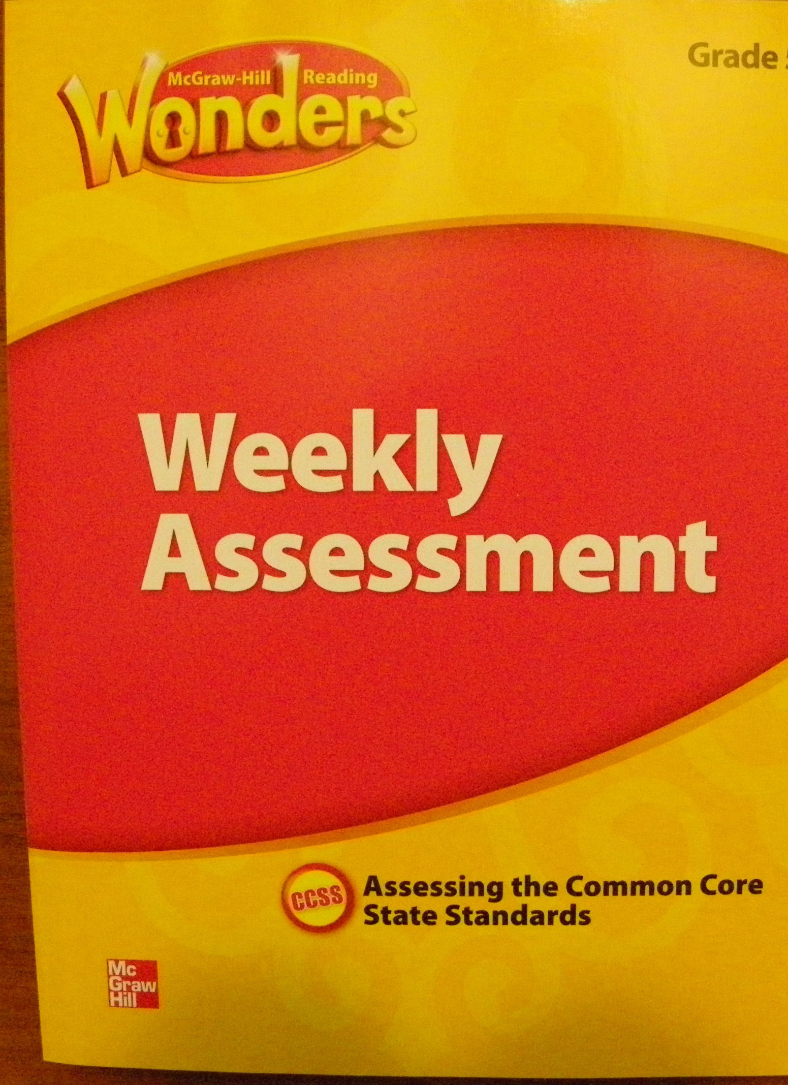 Amazon com: McGraw Hill Reading Wonders, Weekly Assessment, Grade 2